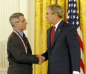 Photo of Fauci and the President