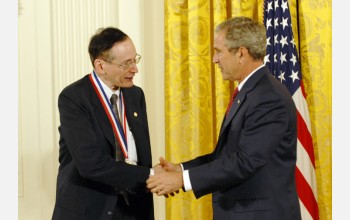 Photo of Marks and the President