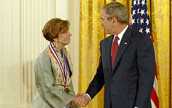 Photo of Fedoroff and the President.