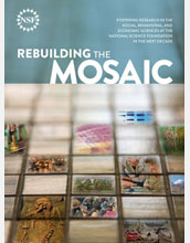 Cover of the Mosaic Report, which outlines broad strategies that will guide social science research.