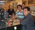 Photo of researchers from the University of Chicago.