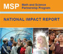 Cove of the report on the impact of the NSF Math and Science Partnership program.