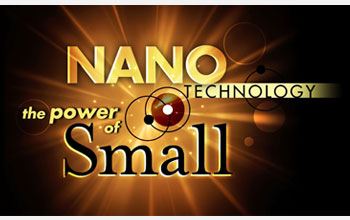 "Logo for ""Nanotechnology: The Power of Small"" television series"