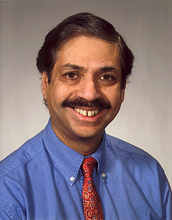 Photo of Ayusman Sen, professor and head of the Department of Chemistry at Penn State University.