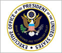 Seal of the Executive Office of the President of the United States.