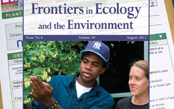 "NEON's Sandra Henderson on the cover of ""Frontiers,"" the journal's most popular issue"