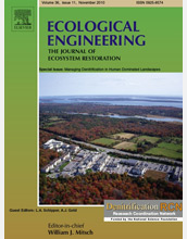 Cover of the journal Ecological Engineering.