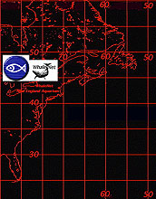 North Atlantic Tracking Map.
