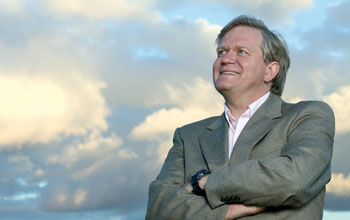 Image of Brian P. Schmidt, one of the winners of the 2011 Nobel Prize in Physics.