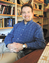 Image of Adam G. Riess, one of the winners of the 2011 Nobel Prize in Physics.