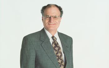 Image of Thomas Sargent, one of winners of the 2011 Sveriges Riksbank Prize in Economic Sciences.