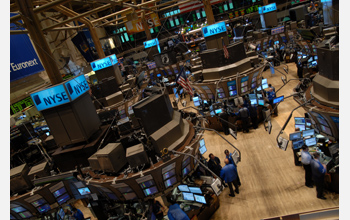 The New York Stock Exchange, focal point of the 2008 Stock Market crash.