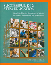 Cover of  the report Successful K-12 STEM Education.