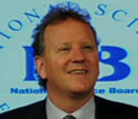 Image of NSB public service awardee Dennis Bartels, executive director of the Exploratorium.