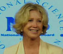 Image of the Public Service Awardee Moira Gunn, founder and host of Tech Nation and BioTech Nation.
