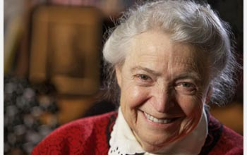 Photo of 2009 NSB Vannevar Bush Award Recipient Mildred Dresselhaus of MIT.
