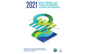 Women minorities, and Persons with Disabilities in Science and Engineering report cover