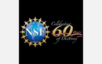 National Science Foundation 60th anniversary logo