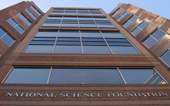 Photo of the NSF building.