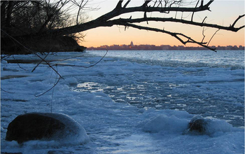 Changing patterns of ice formation and melting are affecting winter microbial activity in lakes.
