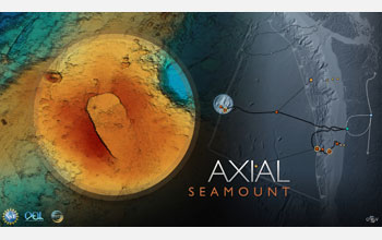 Image showing Axial Seamount on the Juan de Fuca Ridge.