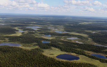 Photo of Russia's Imandra/Varzuga Greenstone Belt.