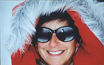 Julie Palais, glaciology program officer for the U.S. Antarctic Program
