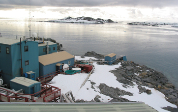 The National Science Foundation's Palmer Station on the Antarctic Peninsula.