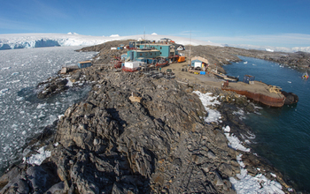 Palmer Station, Antarctica in February of 2015.