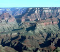Image of sedimentary rocks in the Grand Canyon, Arizona.