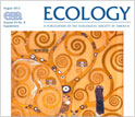 Cover of the special issue of Ecology on the fields of ecology and phylogenetics.