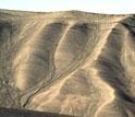 Photo showing the barren arctic landscape of Ellesmere Island.