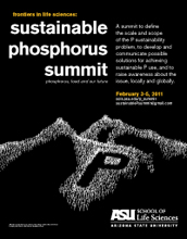 Image with words Sustainable Phosphorus Summit.