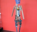 Denise, the Delft University of Technology passive-dynamics robot.