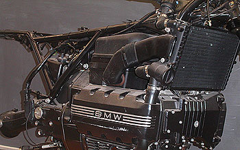 BMW motorcycle engine