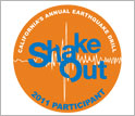 ShakeOut, California's Annual Earthquake Drill, 2011 Participant.