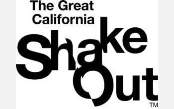 Text: The Great California ShakeOut