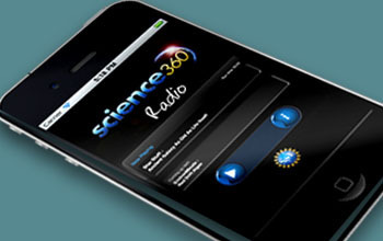 Science360 radio iapp open on iphone