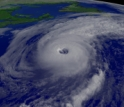 Hurricane Alex in Aug. 2004
