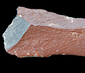 Photo of showing pigment colored rock