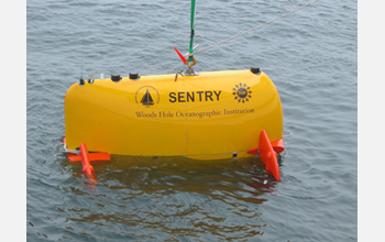 Photo of Sentry on the ocean surface.