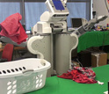 robot doing laundry