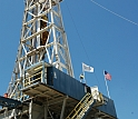 This drilling rig was used to retrieve samples of rock from the San Andreas Fault.