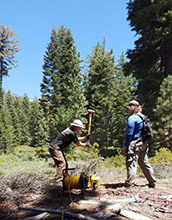 Study explores how rock expands near soil surface in Sierra Nevada - National Science Foundation