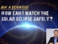 title slide how can i watch the solar eclipse safely