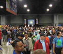 Photo of crowds at the 2012 USA Science & Engineering Festival, Washington, D.C.