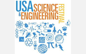 Science and Engineering Festival logo.