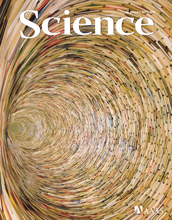 Cover of the January 14, 2011 issue of the journal Science.