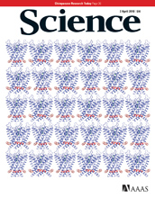 Cover of the April 2, 2010 issue of the journal Science.