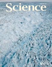 Cover of the May 4, 2012 issue of the journal Science.